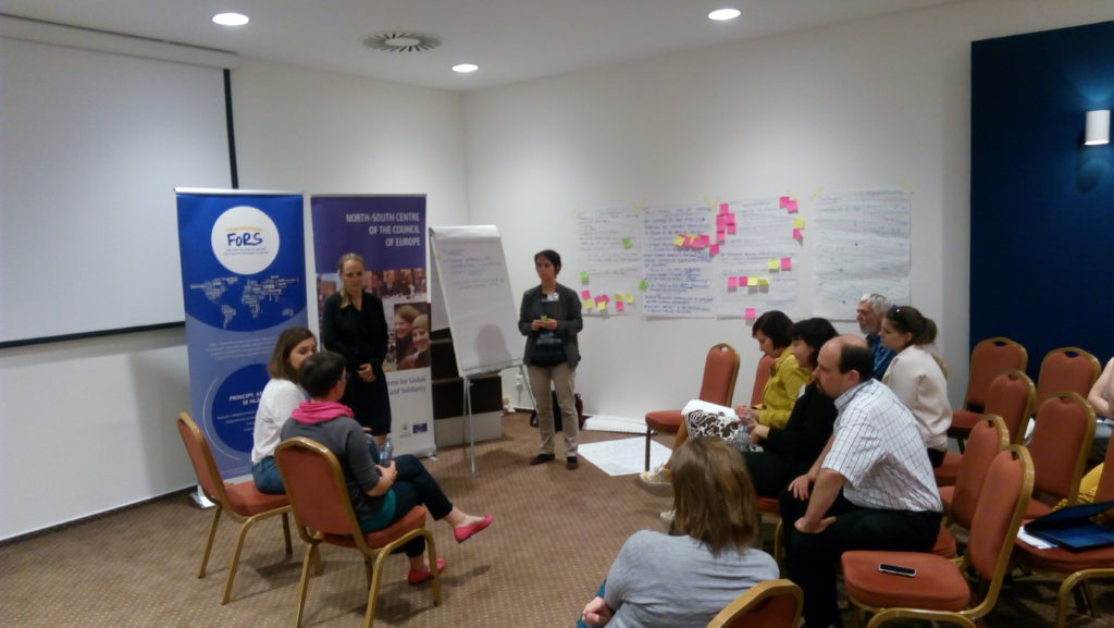 Visegrad Regional seminar on Global Development Education_plenary session