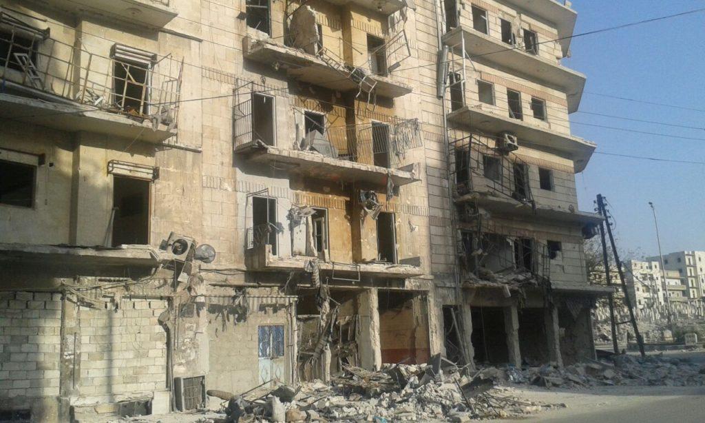 Al-Salaheen, východní Aleppo, srpen 2016 02 Foto Archiv Člověka v tísni