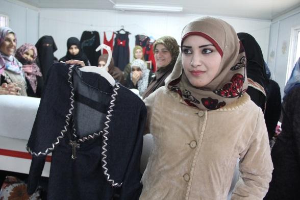 Diana, Peace Oasis, Zaatarí, Jordánsko, foto Diakonie
